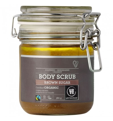 Brown Sugar body scrub organic - Urtekram