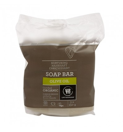 Olive oil soap bar organic - Urtekram
