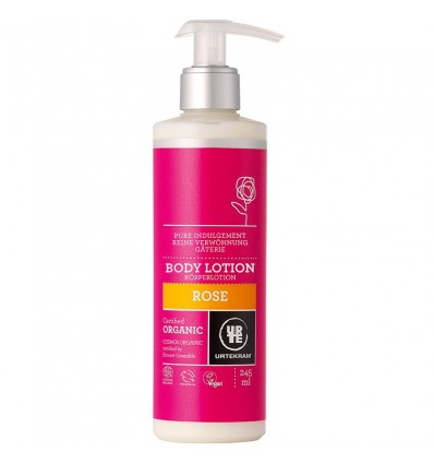 Rose body lotion organic -  Urtekram