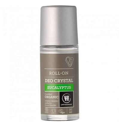 Eukalyptus-Deokristall Roll-on Bio - Urtekram