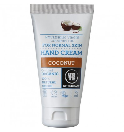 Coconut hand cream organic 75 ml - Urtekram