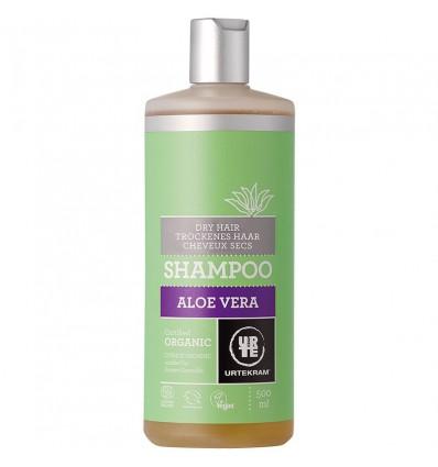 Aloe Vera shampoo dry hair organic 500 ml - Urtekram