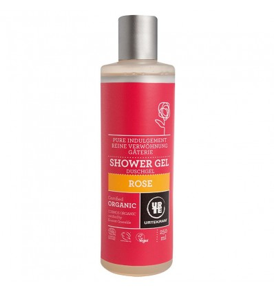 Gel Douche Bio à la Rose 250 ml - Urtekram