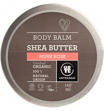 Body Balm Shea Butter Musk Rose organic - Urtekram