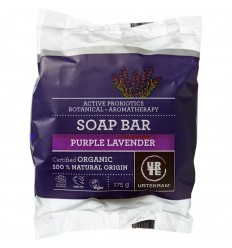 Purple Lavender Soap Bar organic 175 g - Urtekram