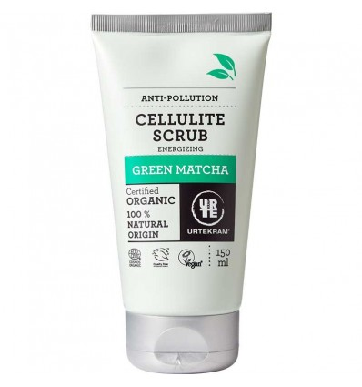 Green Matcha Energizing Cellulite Scrub organic 150 ml - Urtekram