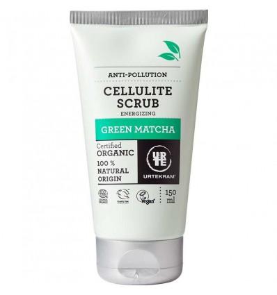 Green Matcha Erfrischendes Cellulite Peeling Bio 150ml- Urtekram