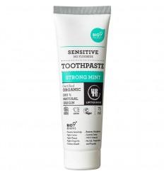 Strong Mint Sensitive Toothpaste Organic 75 Ml - Urtekram