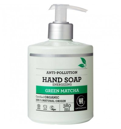 Green Matcha Energizing Hand Soap Organic 380 ml - Urtekram