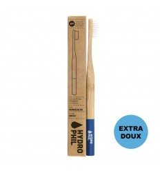 Sustainable toothbrush - blue - extra soft - Hydrophil