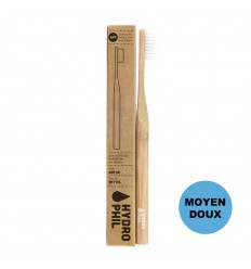 Sustainable bamboo toothbrush - Nature - medium soft - Hydrophil