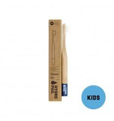 Nachhaltige kinder zahnbürste – dunkelblau – extraweich - Hydrophil