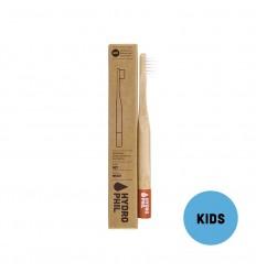 Nachhaltige kinder zahnbürste – rot – extraweich - Hydrophil