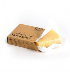 Lemongrass Soap Bar organic 80 g - Hydrophil
