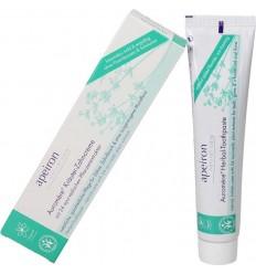 Herbal toothpaste - fluorfree - Apeiron