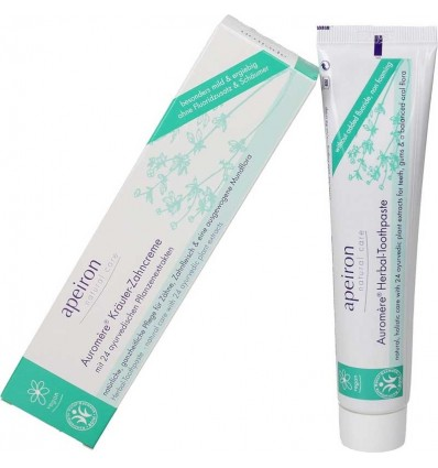 Herbal toothpaste - fluorfree - Apeiron