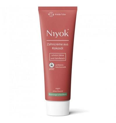 Blood Orange & Basil fluoride-free toothpaste Organic - Niyok