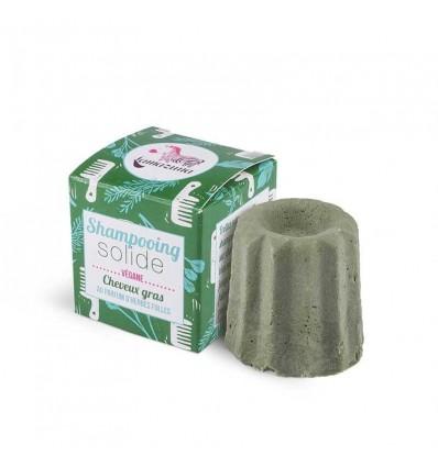Solid shampoo for oily hair – wild grasses scent - Lamazuna