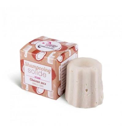 Solid shampoo - dry hair – vanilla & coconut scent - Lamazuna