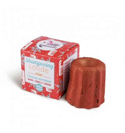 Solid shampoo with orange, cinnamon & star anise - Lamazuna