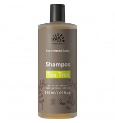 Tea tree shampoo irritated scalp organic 500ml