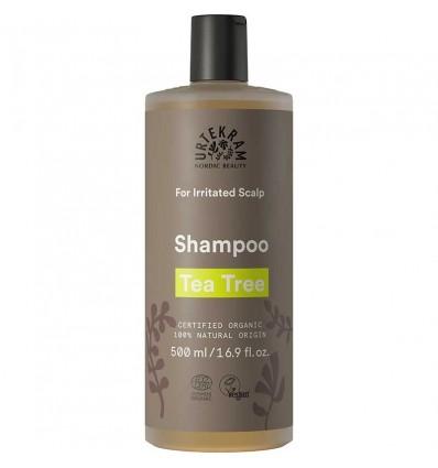 Tea tree shampoo irritated scalp organic - 500ml