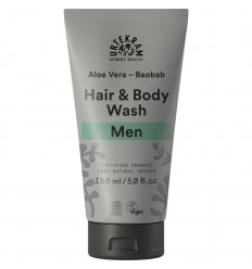 Men Aloe Vera Baobob Hair & Body wash organic - Urtekram