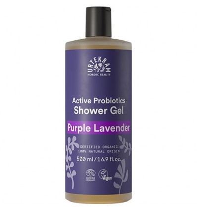 Purple Lavender shower gel 500 ml - Urtekram