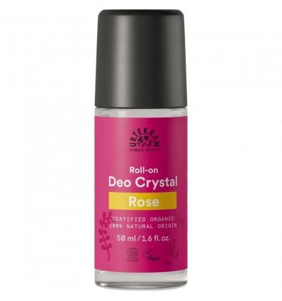 Rose deo crystal roll-on organic - Urtekram